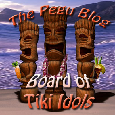 Pegu Blog Board of Tiki Idols