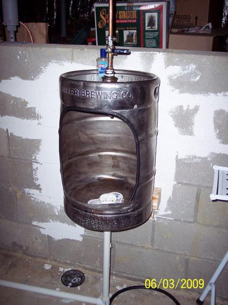 Basement Bar Design Accessories #5: Pure American Ingenuity - The