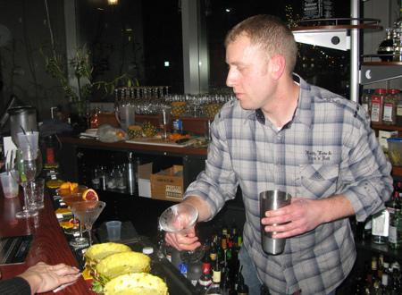 Iron Bartender Hyde Park — Mike Vehlber