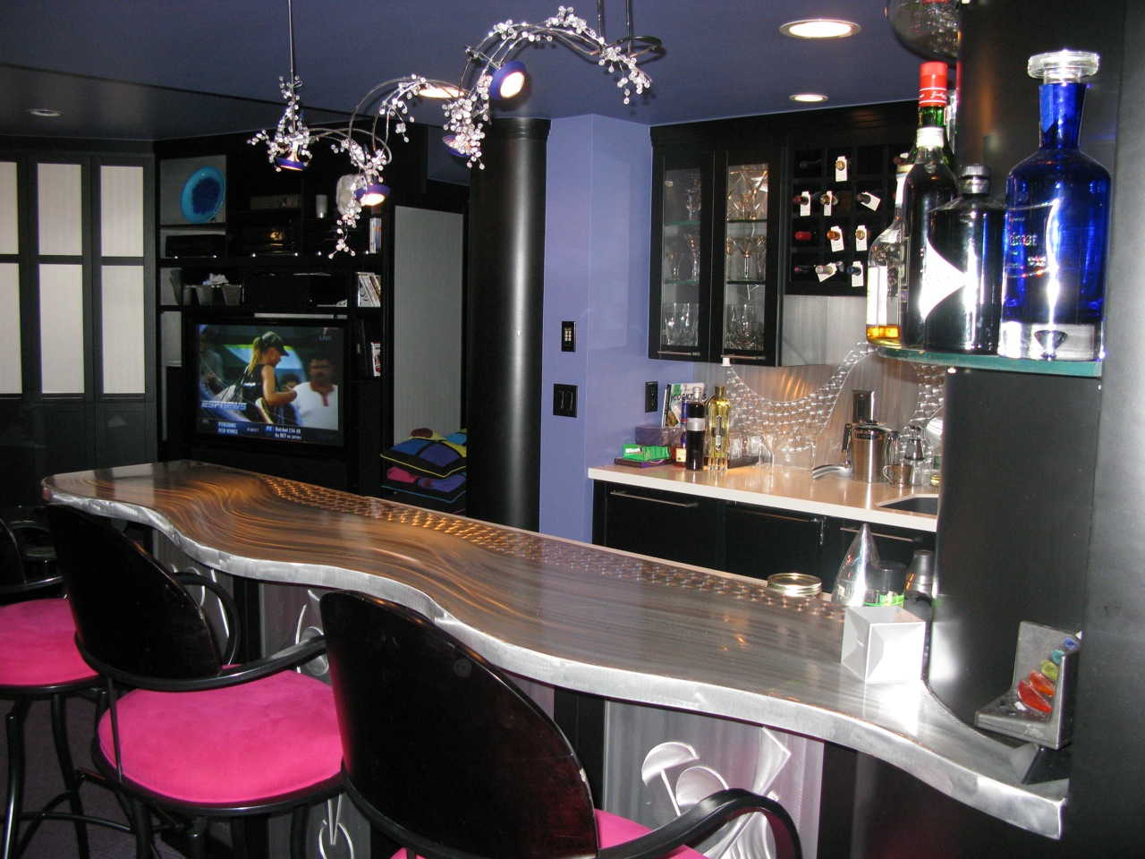 Awesome Home Basement Bar