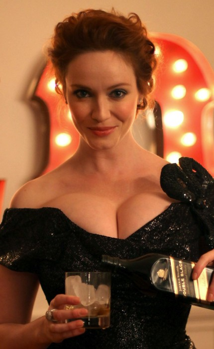 Christina Hendricks Johnnie Walker