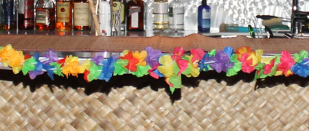 Flower Lei edging