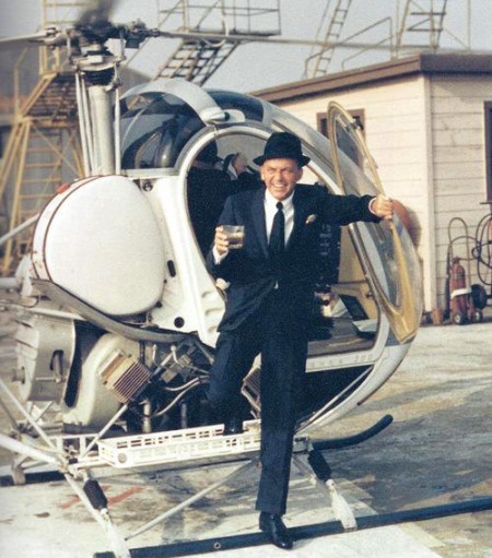 Frank Sinatra Helicopter Drink