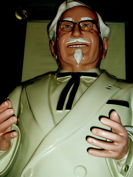 Angry Colonel Sanders