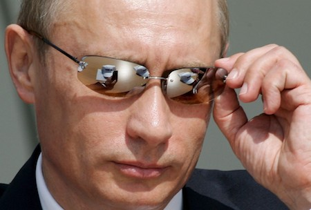 Vladimir Putin think you're adorably gullible.