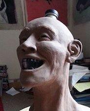Crystal Head Bottle Facial Reconstruction