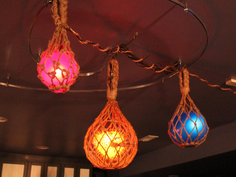 String Lights For Tiki Bar : Basement Bar Design: Volcano Tiki Prop - The Pegu Blog