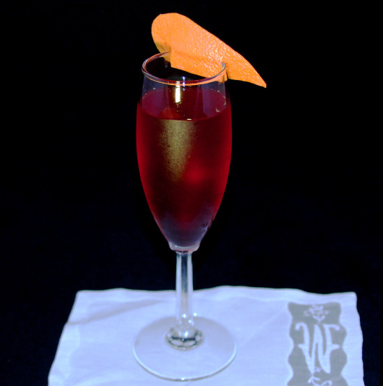 Sparkling Negroni, from the wizards at Curio at Harvest