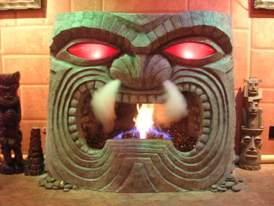 Tiki Fireplace